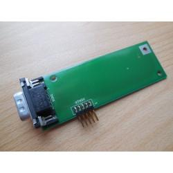 PCB s konektorem pro připojení myši