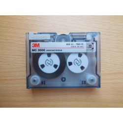3M MC 3000 255-750MB Mini Data Cartridge